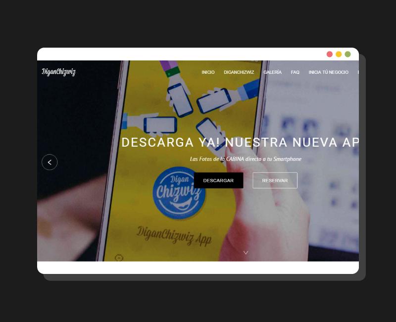 Diseño Web Diganchizwiz