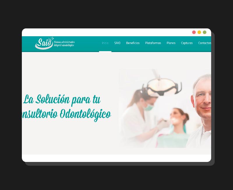 Diseño web SAIO