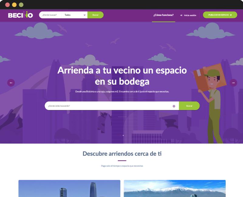 Desarrollo App Web Becino