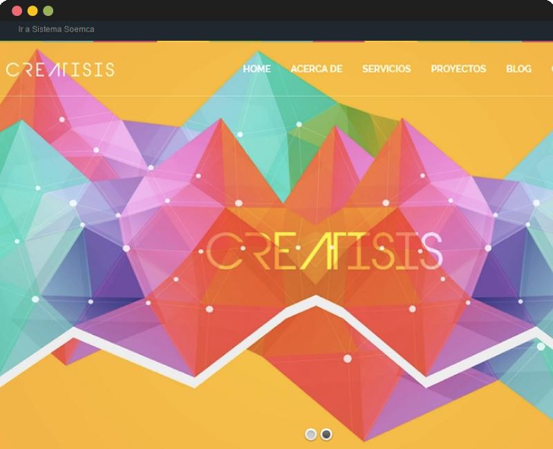 Diseño web Creatisis