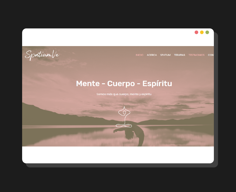 Diseño web Spatium