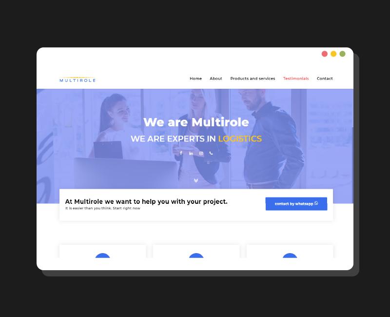 Diseño web Multirole