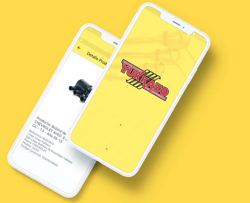 App móvil   YUKKAZO