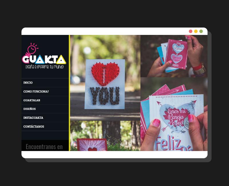 Diseño web Gukta