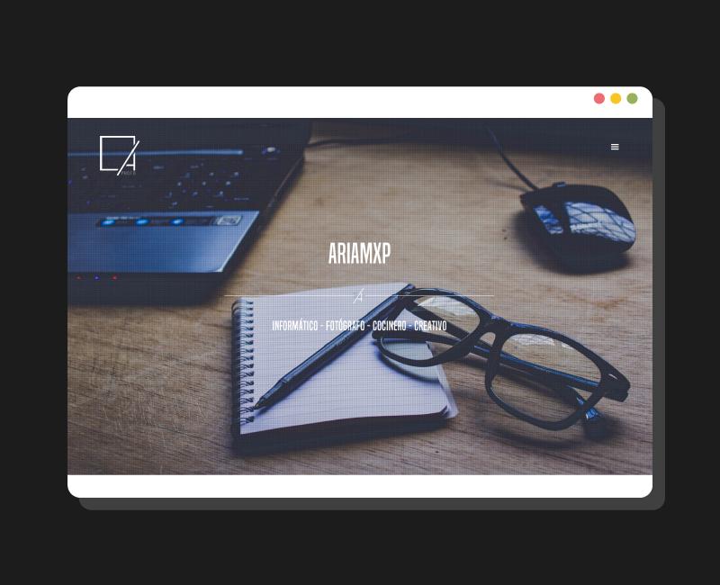 Diseño web Ariam