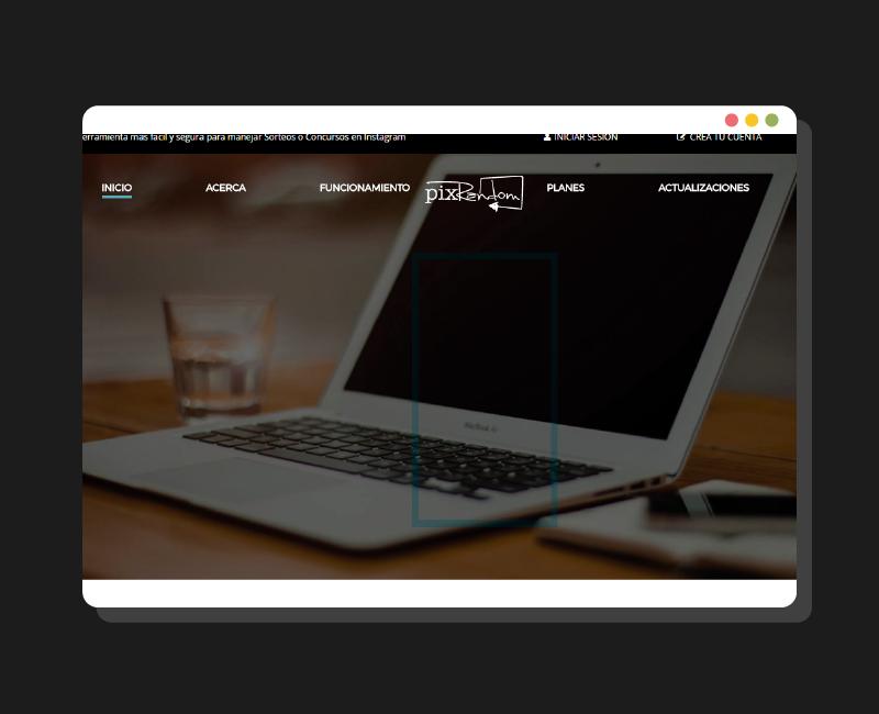 Diseño Web Pixrandom
